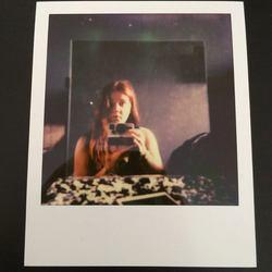 Zelfportret - SX-70 Color Polaroid