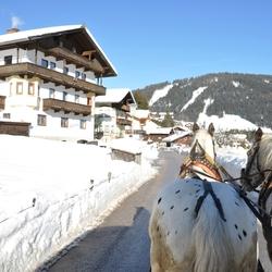Niederau Oostenrijk paardenrit