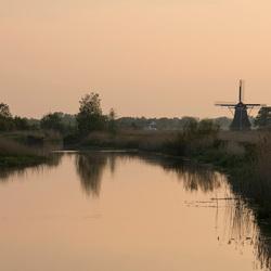 Kollum - Zicht op Kollum vanaf de Willem Loreweg