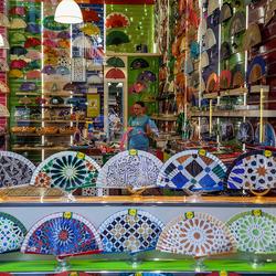 Granada in een toeristenwinkel