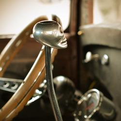 Inside Hot Rod Cockpit