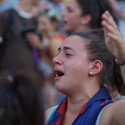 Emotie bij de Palio, Sienna