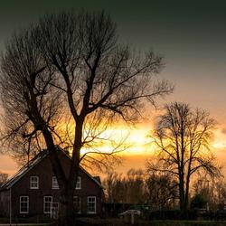 Sunset Meinerswijk.