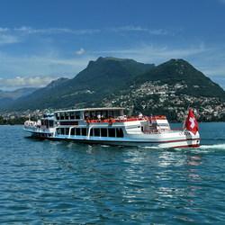 Meer van Lugano.