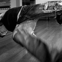 breakdancer in movement