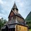 Staafkerk uit 1050 te Urnes