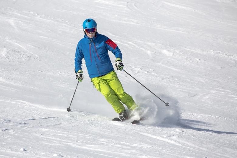 Wintersport 1 - Ondanks dat het nu mooi lenteweer wordt toch nog een aantal dagen wintersportfoto's die ik nog had liggen. We waren eind februari