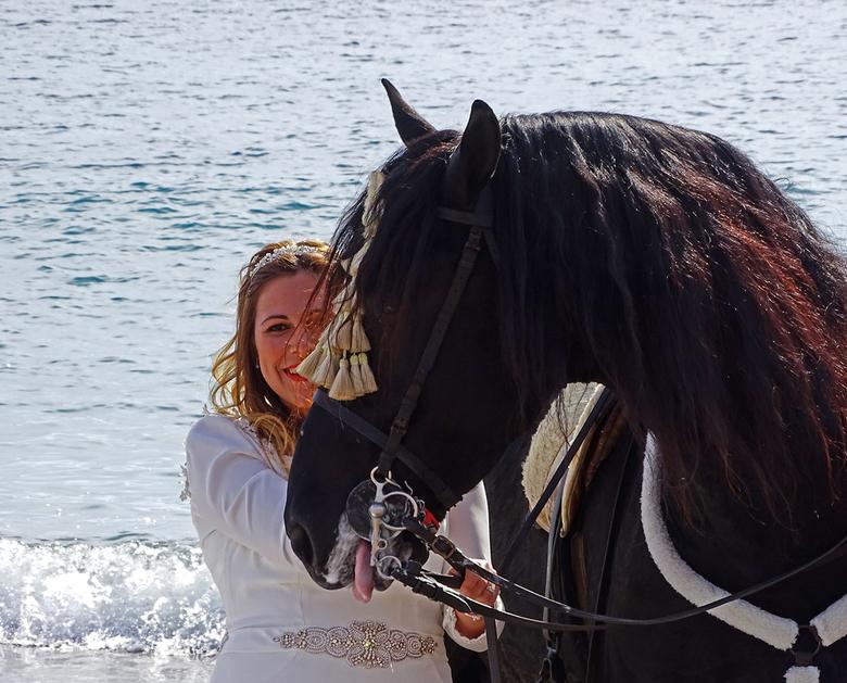 Maar wat... - vond het paard er van? groeten en een fijn weekend, Nel