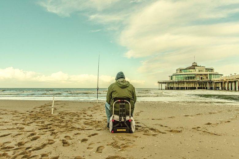 De eenzame visser -