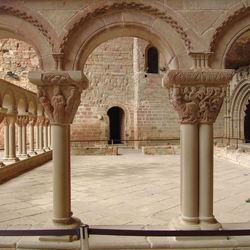 Cloistercourt of San Juan de La Peña