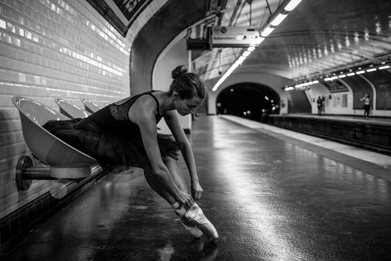 Getting ready to go to Paris - Ballerina: Nina