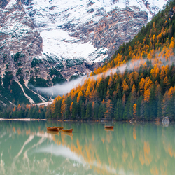 Herfst in Zuid Tirol