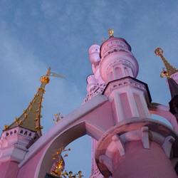 Kasteel in Disneyland