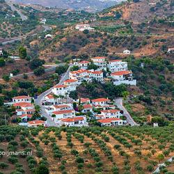 Uitzicht vanaf Castillo de Monda in Monda