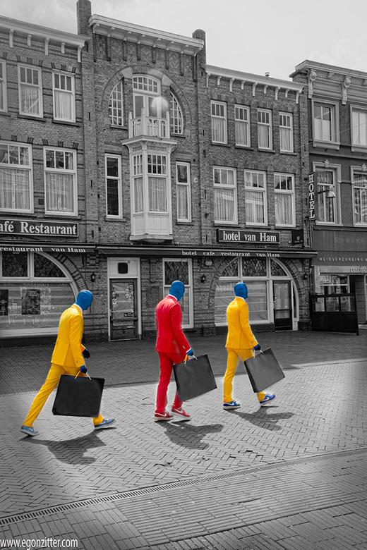 oranjegekte - afgelopen zaterdagmiddag in Breda gespot