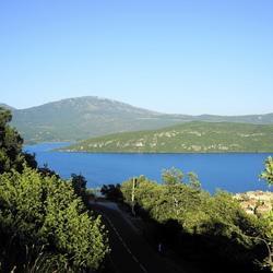 lac sainte croix route de village
