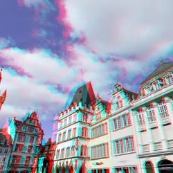 Hauptmarkt Trier Germany 3D