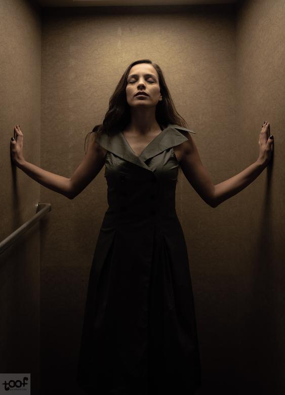The elevator -