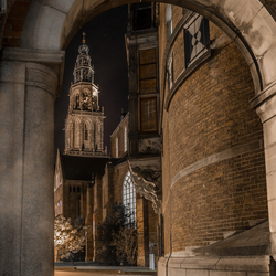 Doorkijkje Martinitoren