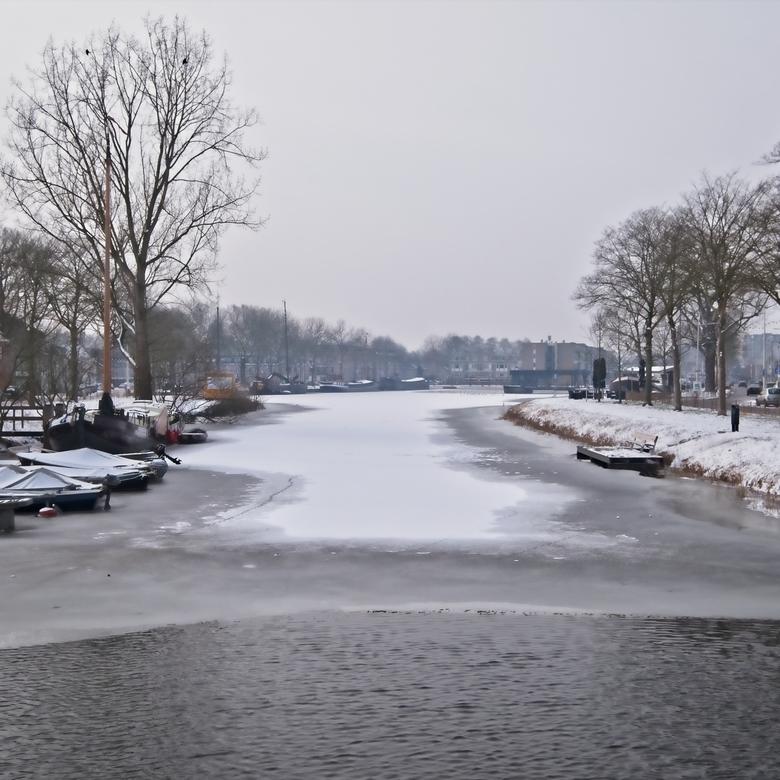 Tilburg in sneeuw