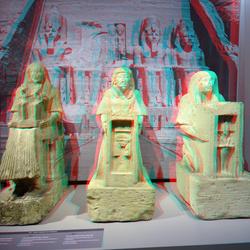 Goden van Egypte RMO Leiden 3D