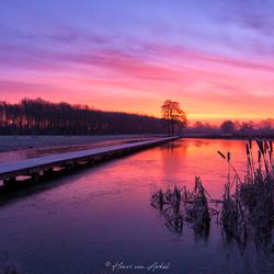 Klarenbeek zonsopkomst