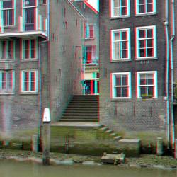 Voorstraat vanaf Pottenkade Dordrecht 3D