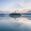 Blue hour Bled
