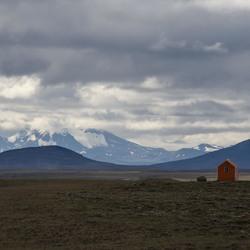 Binnenland van IJsland: leeg en ruig