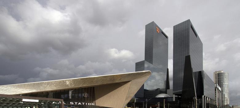 Station Rotjeknor - Dat is niet onbeleefd bedoeld, want het nieuwe station verdiend zijn schoonheid.<br /> Deze opname is nog ten tijden dat de werkz