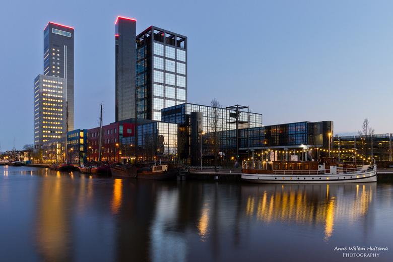 Achmeatoren - Het hoogste gebouw van Leeuwarden: de Achmeatoren.