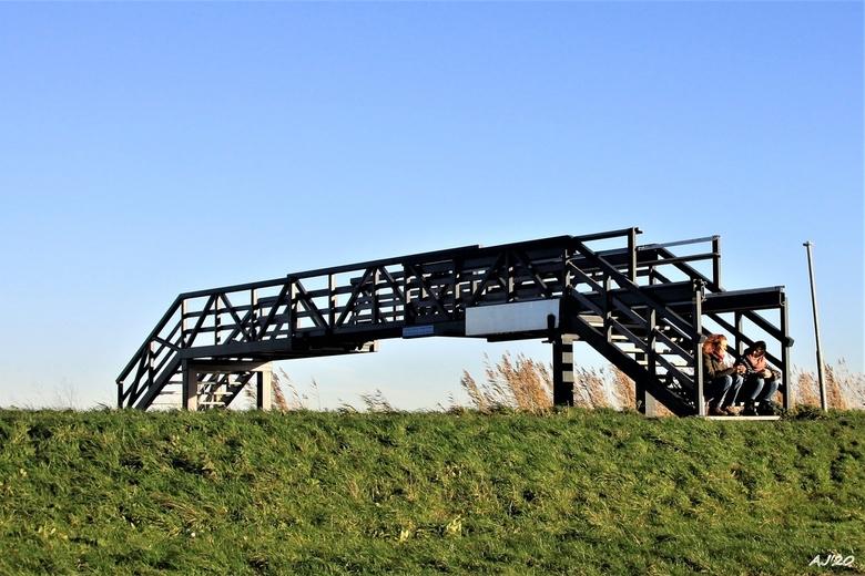 laatste warme dag 08-11-2020 - op de brug op de laatste mooie dag van 2020<br /> Gtjs.AJ62