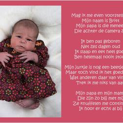 onze dochter Britt
