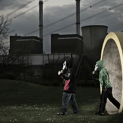 2 boys in a dirty world