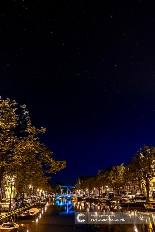 Starry night boven Alkmaar