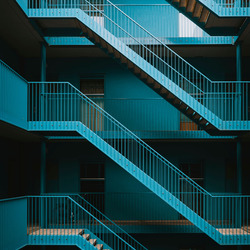 The Blue Stairs.