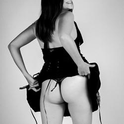 Schat, is me gat niet te dik in deze rok?