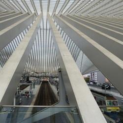 Station Luik België.