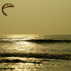 flyboarden op zee