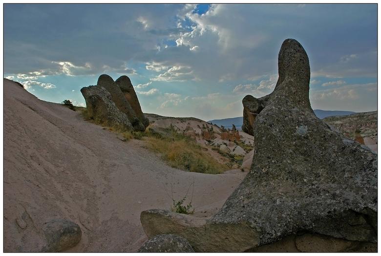 Göreme - Eén van de mooiste gebieden van Turkije is Cappadocie. De natuur heeft hier in de loop van miljoenen jaren een wonderlijk landschap geschapen