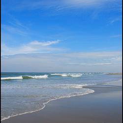Zee, strand Terschelling