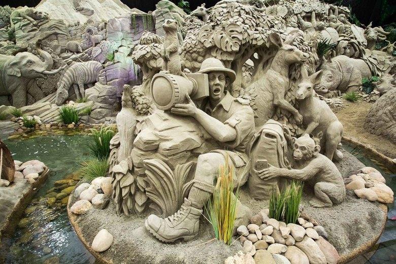 Zandsculpturen Garderen -