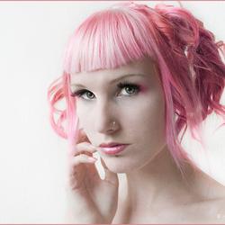 Zelfportret - sweet pink