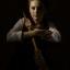 Bonnie in Rembrandt stijl