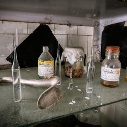 Pripyat, ziekenhuis materiaal