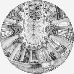 Hoogkoor in de Grote Kerk in Dordrecht