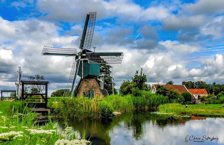 Poldermolen''Tienhoven'' Holland - Bedankt voor de fijne reacties op mijn vorige foto&#039;s .<br /> <br /> Gr. Chris