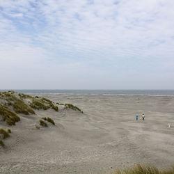 Strand wandeling.