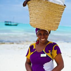 A smile from Zanzibar