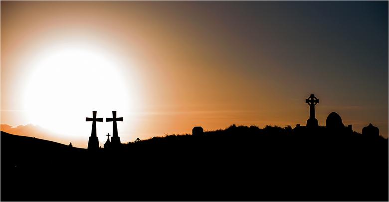 Celtic Cemetery 1 - Keltische begraafplaats, Errisbeg, Gurteen Bay, Connemara